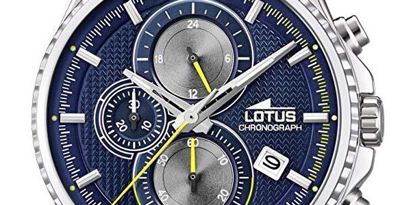 Reloj cronógrafo Lotus 18527/3 para hombre chollo en Amazon
