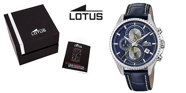 Reloj cronógrafo Lotus 18527/3 para hombre barato en Amazon