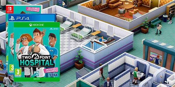 Reserva Two Point Hospital para Switch, PS4 Xbox One al mejor precio