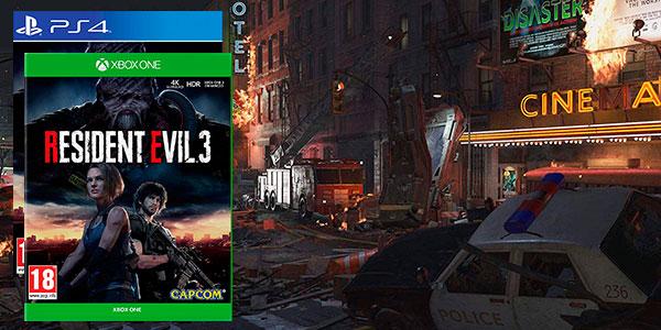 Reserva Resident Evil 3 Remake para PS4 y Xbox One al mejor precio