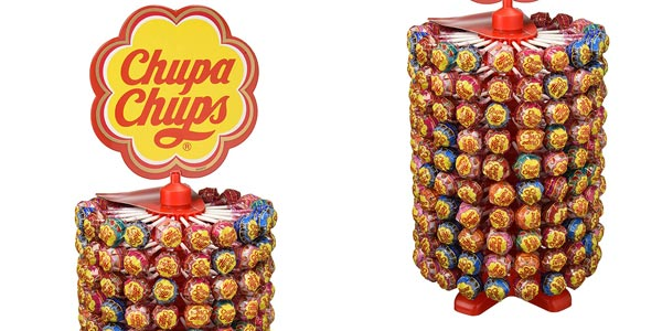 Rueda Megapack x200 Chupa Chups Caramelo con Palo sabores variados barata en Amazon