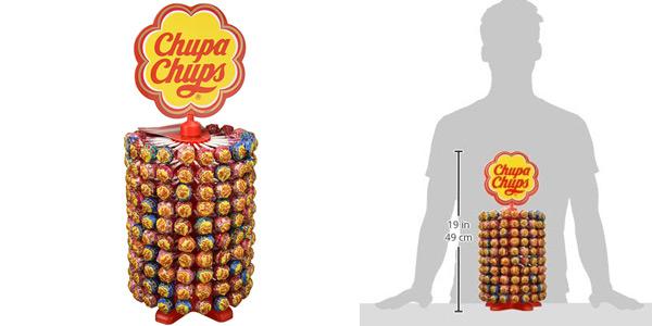 Rueda Megapack x200 Chupa Chups Caramelo con Palo sabores variados chollo en Amazon