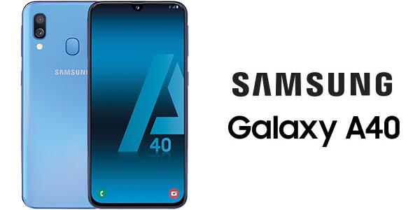 """Smartphone Samsung Galaxy A40 de 5,9"""""""