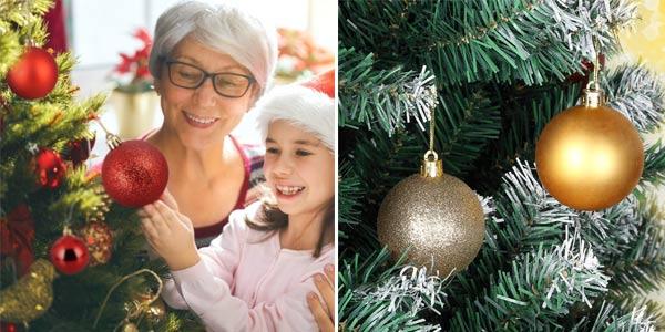 Set Adornos navideños Zogin chollo en Amazon