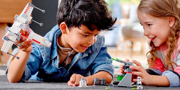 Asalto a la Trinchera del Caza Estelar Ala-X de LEGO Star Wars barato