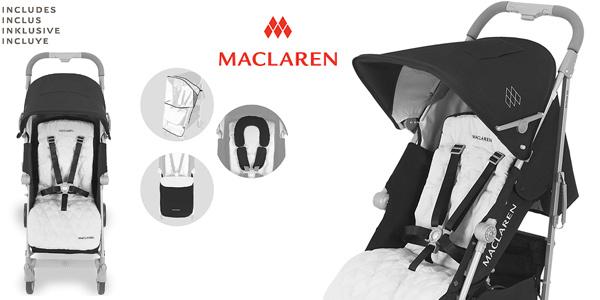 Silla de paseo Maclaren Techno XLR para bebés recién nacidos y hasta 25 kg barata en Amazon