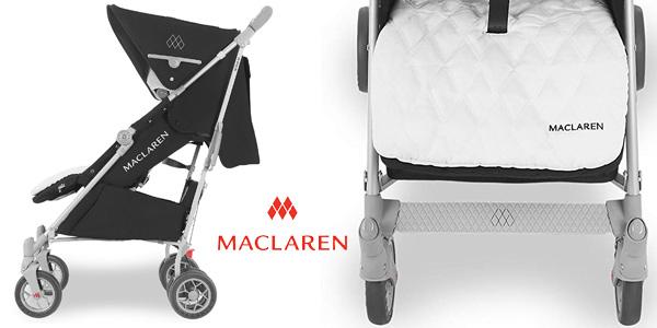 Silla de paseo Maclaren Techno XLR para bebés recién nacidos y hasta 25 kg chollazo en Amazon