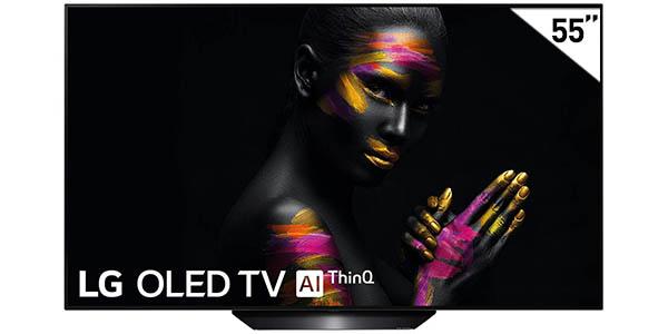 "Smart TV LG OLED55B9ALEXA 4K UHD HDR de 55"" con IA"