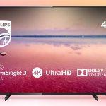 "Smart TV Philips 55PUS6704/12 UHD 4K de 55"" HDR Ambilight 3 barata en Amazon"
