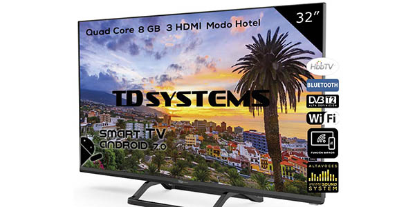 "Smart TV TD Systems K32DLX9HS de 32"" barato"