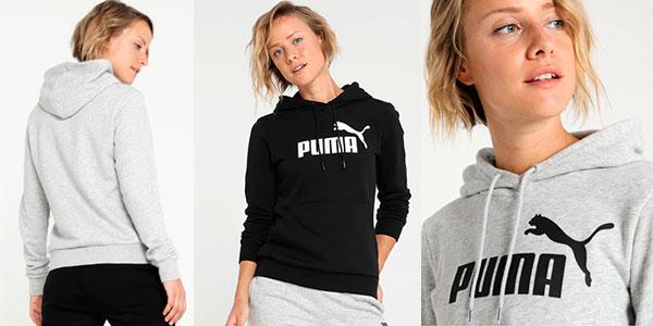Sudadera Puma Essentials con capucha para mujer barata