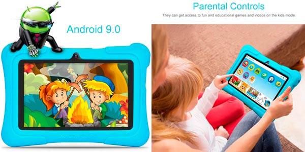 Tablet infantil Dragon Touch Y88X Pro en oferta en Amazon