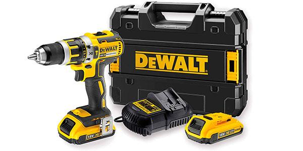 Taladro percutor DeWalt DCD795D2-QW con 2 baterías y maletín barato