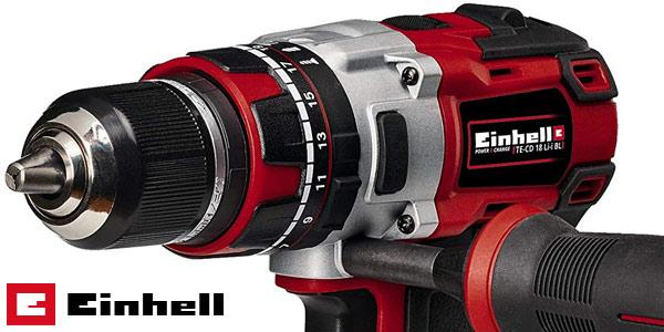 Taladro percutor inalámbrico Einhell TE-CD 18 Li-i BL Power-X-Change 18V chollo en Amazon