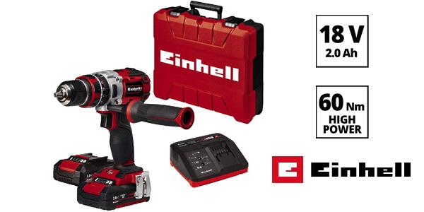 Taladro percutor inalámbrico Einhell TE-CD 18 Li-i BL Power-X-Change 18V barato en Amazon