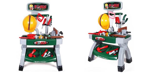 Taller Mecánico deAO con herramientas y accesorios de bricolaje de Juguete barato en Amazon