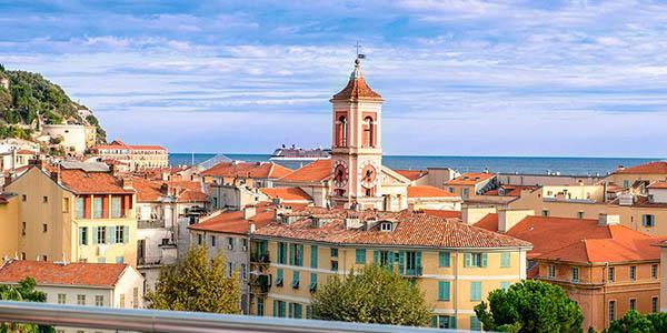 viaje corto a Niza chollo alojamiento