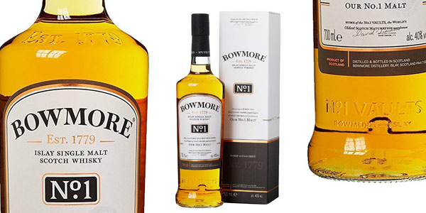 Bowmore No.1 Whisky Escocés de 700 ml barato en Amazon