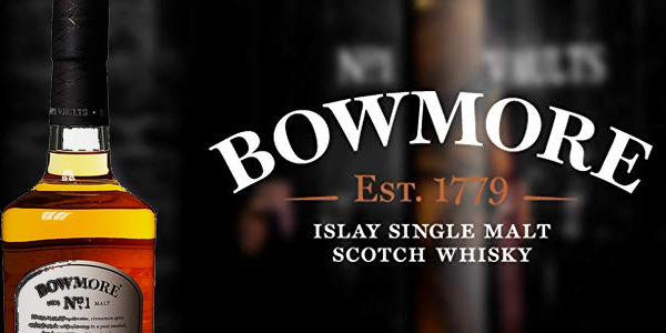 Bowmore No.1 Whisky Escocés de 700 ml chollo en Amazon