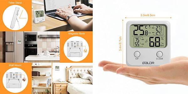 Wisfox termómetro higómetro digital barato