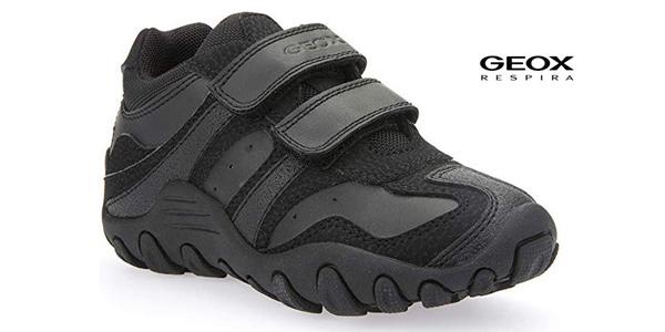 Zapatillas deportivas Geox J Crush M para niños baratas en Amazon