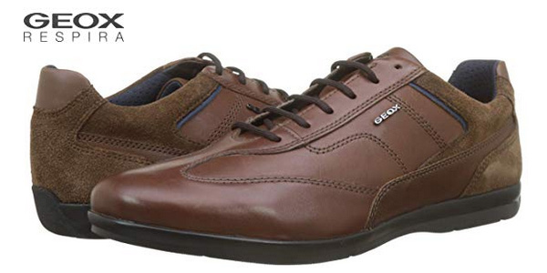 Zapatos de cordones Geox U Adrien B para hombre baratos en Amazon