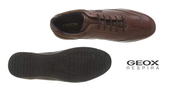 Zapatos de cordones Geox U Adrien B para hombre chollo en Amazon