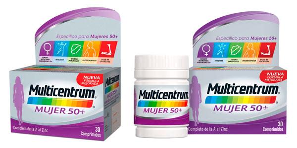 Comprar 90 comprimidos Multicentrum Mujer 50+ en oferta