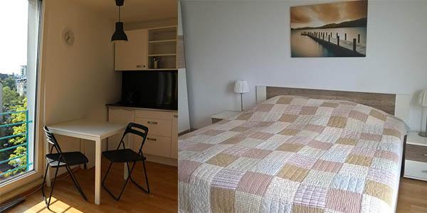apartamento barato en Düsseldorf viaje corto