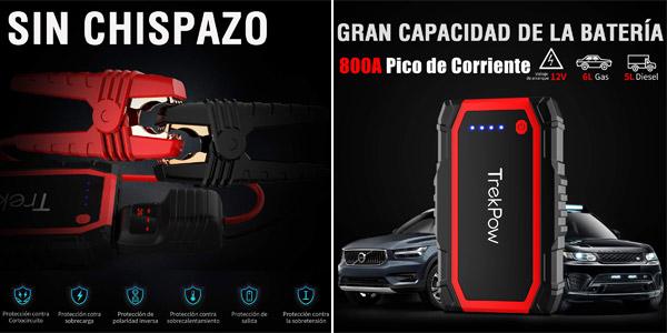 Arrancador de Baterías TrekPow A18 Gasolina y Diesel chollazo en Amazon