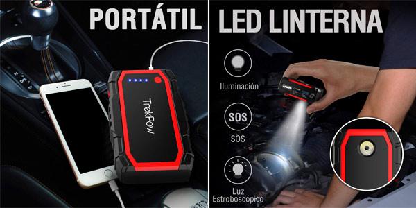 Arrancador de Baterías TrekPow A18 Gasolina y Diesel chollo en Amazon