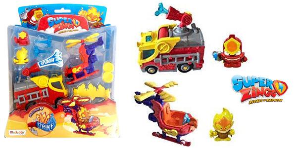Blíster Serie 5 Superzings Fire Strike Mission con 2 Vehículos + 2 Figuras exclusivas chollo en Amazon