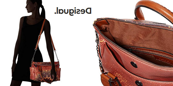 Bolso de mano Desigual Tequila Sunrise Loverty paar mujer chollo en Amazon