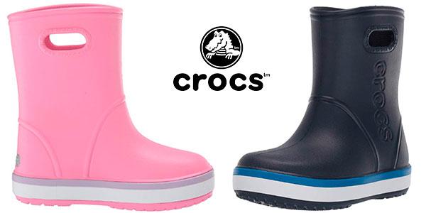 Botas de agua infantiles Crocs Crocband unisex baratas