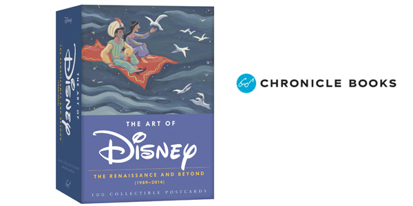 Caja 100 Postales Coleccionables The Art of Disney: The Reinassance and Beyond (1989-2014) barato en Amazon