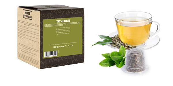 Caja x40 Cápsulas Té Verde Note D'Espresso para Nespresso chollo en Amazon