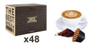 Caja x48 Cápsulas Dolce Gusto Note D'Espresso Capuccino barata en Amazon