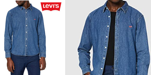 Camisa Levi's LS Battery HM Shirt Slim barata en Amazon