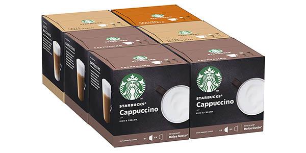 cápsulas de café Dolce Gusto sabores Starbucks chollo