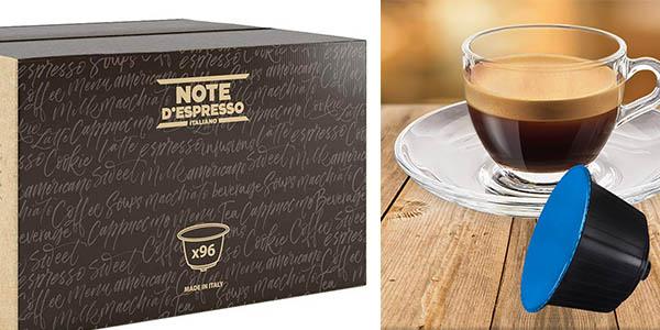 cápsulas de café Note D'Espresso Nicaragua para cafetera Dolce Gusto chollo