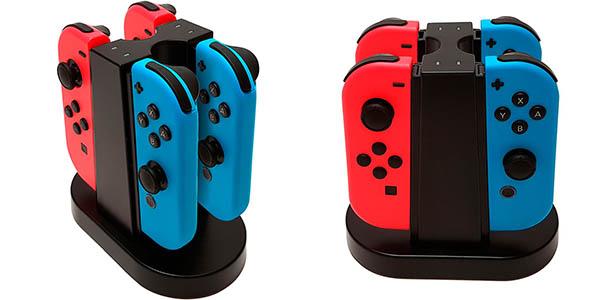 Base de carga Big Ben para 4 Joy-con de Nintendo Switch barata