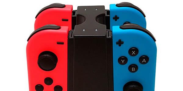 Base de carga Big Ben para 4 Joy-con de Nintendo Switch en Amazon