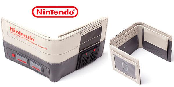 Cartera monedero Nintendo 8 Bits barata