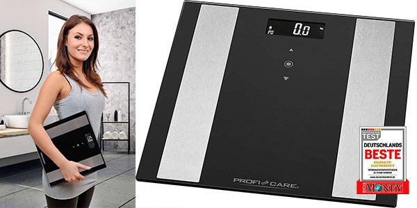 Chollo Báscula de baño digital ProfiCare PW 3007 con análisis corporal