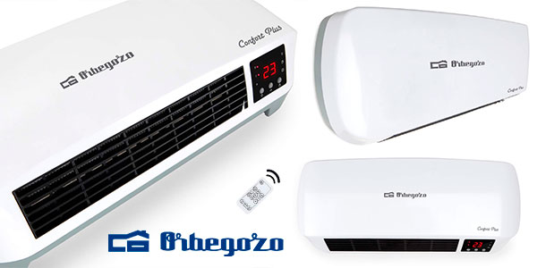 Calefactor de baño Orbegozo SP 6000 de 2.000 W en oferta