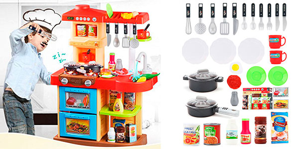 Chollo Cocinita de juguete My Little Chef con 30 accesorios