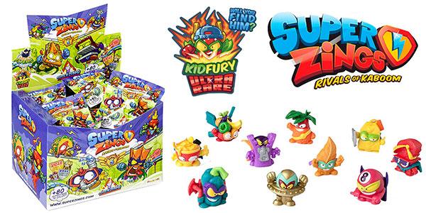 Chollo Display Superzings Serie 5 con 50 figuras
