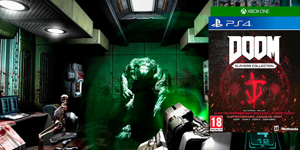 Chollo Doom Slayers Collection para PS4 y Xbox One