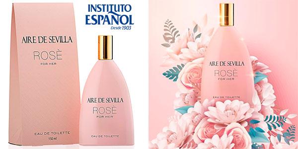Chollo Eau de toilette Aire de Sevilla Edición Rosè para mujer de 150 ml