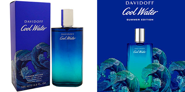 Chollo Eau de toilette Davidoff Cool Water Summer Edition de 125 ml para hombre